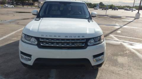 2015 Land Rover Range Rover Sport for sale at Nation Auto Cars in Houston TX