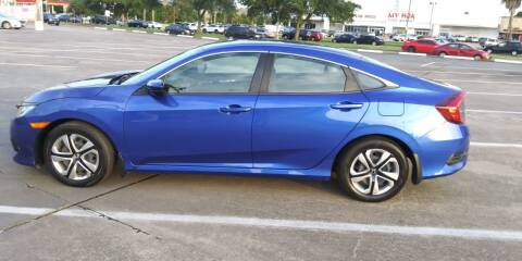 2018 Honda Civic for sale at Nation Auto Cars in Houston TX