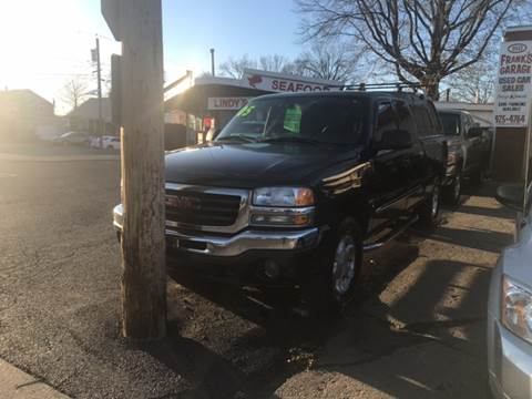 2005 GMC Sierra 1500 for sale at Frank's Garage in Linden NJ