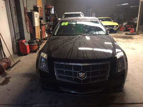 2008 Cadillac CTS for sale at Frank's Garage in Linden NJ