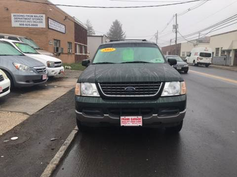 2002 Ford Explorer for sale at Frank's Garage in Linden NJ