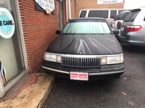 1993 Lincoln Continental for sale at Frank's Garage in Linden NJ