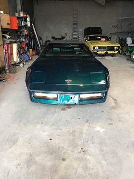 1988 Chevrolet Corvette for sale at Frank's Garage in Linden NJ