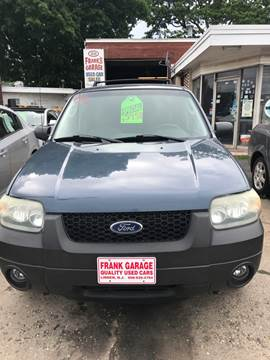2006 Ford Escape for sale at Frank's Garage in Linden NJ