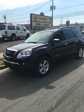 2008 GMC Acadia for sale at Frank's Garage in Linden NJ