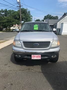 2001 Ford F-150 for sale at Frank's Garage in Linden NJ