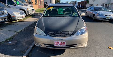 2002 Toyota Camry for sale at Frank's Garage in Linden NJ