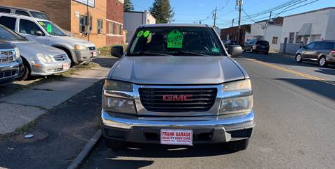 2004 GMC Canyon for sale at Frank's Garage in Linden NJ