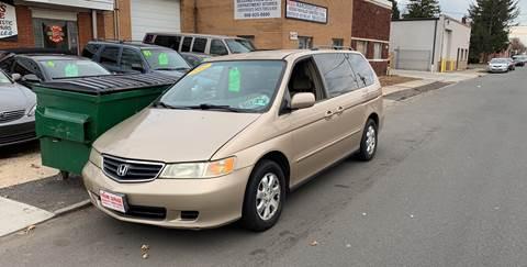 2002 Honda Odyssey for sale at Frank's Garage in Linden NJ