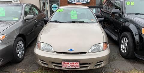 2000 Chevrolet Cavalier for sale at Frank's Garage in Linden NJ