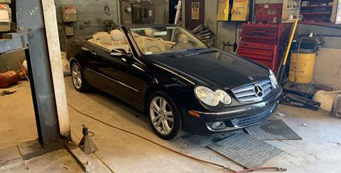 2007 Mercedes-Benz CLK for sale at Frank's Garage in Linden NJ