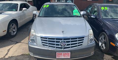 2009 Cadillac DTS for sale at Frank's Garage in Linden NJ