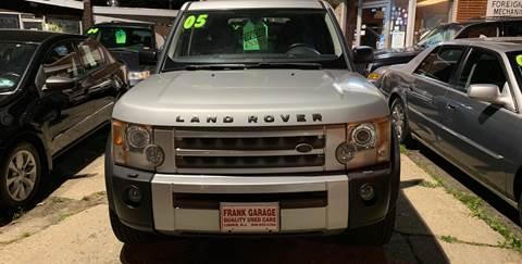 2005 Land Rover LR3 for sale at Frank's Garage in Linden NJ