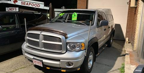 2002 Dodge Ram Pickup 1500 for sale at Frank's Garage in Linden NJ