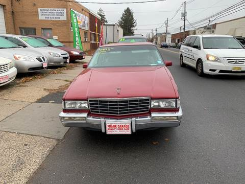 1993 Cadillac DeVille for sale at Frank's Garage in Linden NJ