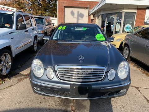 2005 Mercedes-Benz E-Class for sale at Frank's Garage in Linden NJ