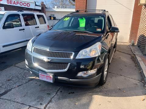 2010 Chevrolet Traverse for sale at Frank's Garage in Linden NJ