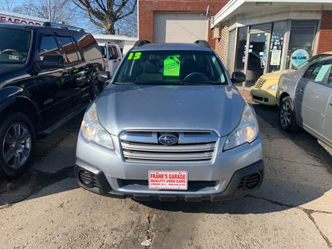 2013 Subaru Outback for sale at Frank's Garage in Linden NJ