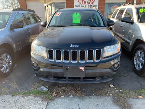 2011 Jeep Compass for sale at Frank's Garage in Linden NJ