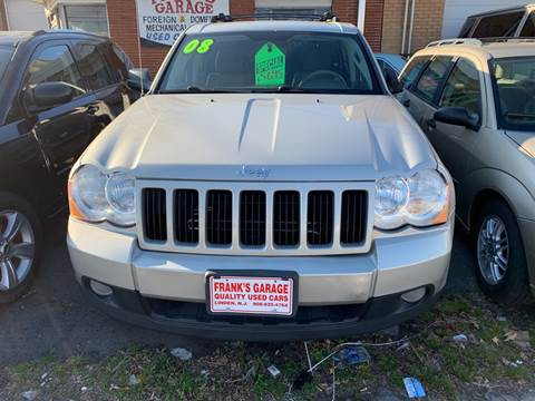 2008 Jeep Grand Cherokee for sale at Frank's Garage in Linden NJ
