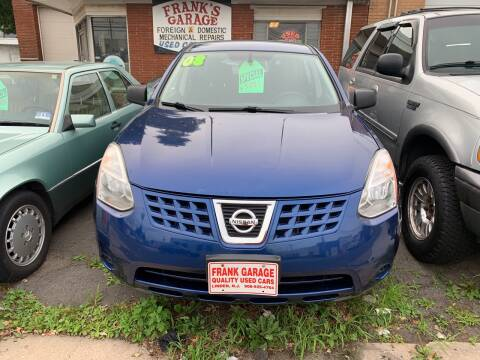 2008 Nissan Rogue for sale at Frank's Garage in Linden NJ