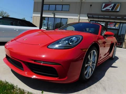 2017 Porsche 718 Boxster for sale in Powell, OH