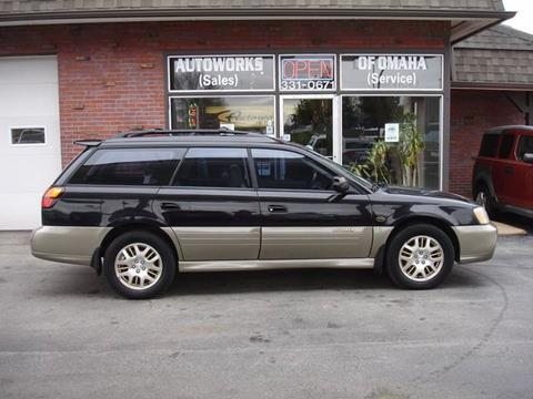 2003 Subaru Outback for sale at AUTOWORKS OF OMAHA INC in Omaha NE