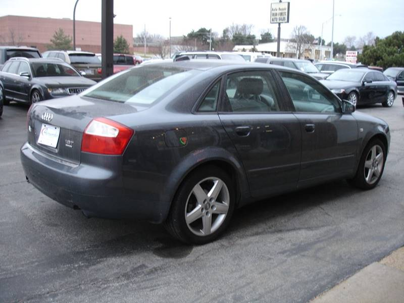 2004 audi a4 awd 1.8t quattro 4dr sedan in omaha ne - autoworks of
