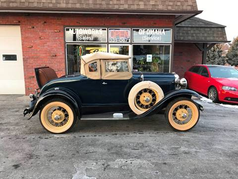 1931 Ford Model A for sale at AUTOWORKS OF OMAHA INC in Omaha NE