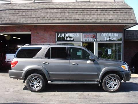 2006 Toyota Sequoia for sale at AUTOWORKS OF OMAHA INC in Omaha NE