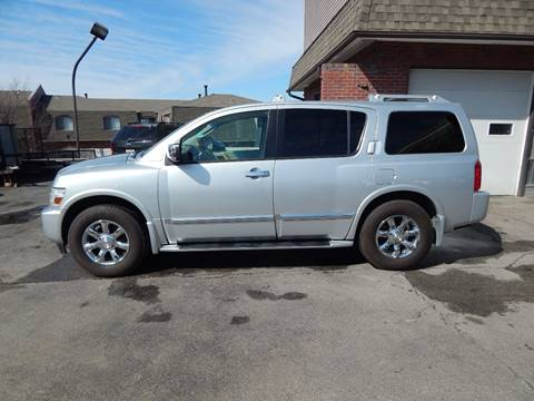 2005 Infiniti QX56 for sale at AUTOWORKS OF OMAHA INC in Omaha NE