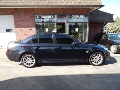 2010 BMW 5 Series for sale at AUTOWORKS OF OMAHA INC in Omaha NE