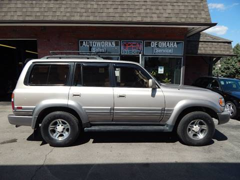 1996 Lexus LX 450 for sale at AUTOWORKS OF OMAHA INC in Omaha NE