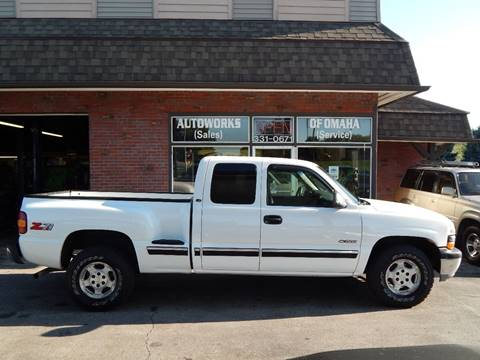 2000 Chevrolet Silverado 1500 for sale at AUTOWORKS OF OMAHA INC in Omaha NE