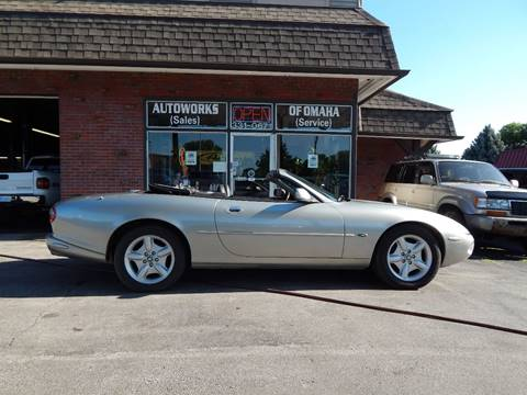 1998 Jaguar XK-Series for sale at AUTOWORKS OF OMAHA INC in Omaha NE