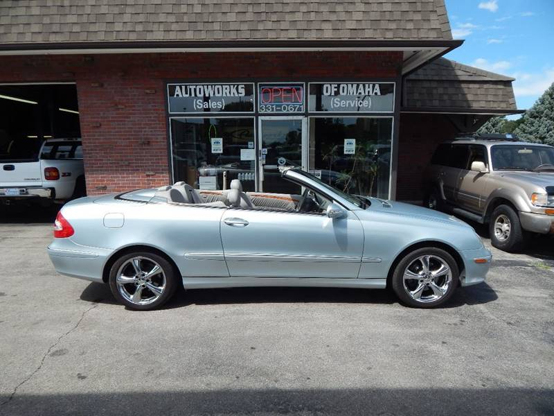 2005 Mercedes-Benz CLK for sale at AUTOWORKS OF OMAHA INC in Omaha NE