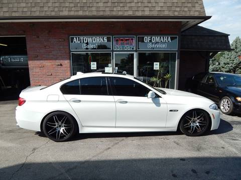 2011 BMW 5 Series for sale at AUTOWORKS OF OMAHA INC in Omaha NE