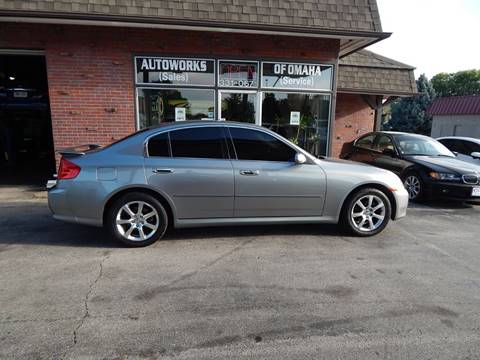 2005 Infiniti G35 for sale at AUTOWORKS OF OMAHA INC in Omaha NE