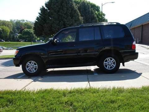 2000 Lexus LX 470 for sale at AUTOWORKS OF OMAHA INC in Omaha NE