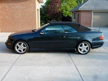 2002 Mercedes-Benz CLK-Class for sale at AUTOWORKS OF OMAHA INC in Omaha NE