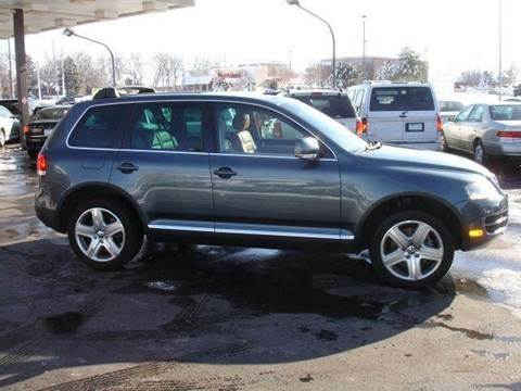 2006 Volkswagen Touareg V10 TDI for sale at AUTOWORKS OF OMAHA INC in Omaha NE