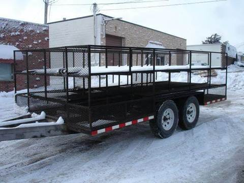 1999 CONSTRUCTION  TRAILER for sale at AUTOWORKS OF OMAHA INC in Omaha NE