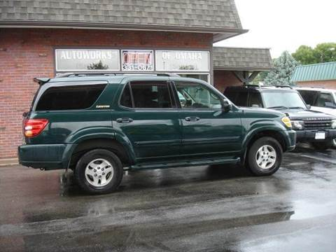 2002 Toyota Sequoia for sale at AUTOWORKS OF OMAHA INC in Omaha NE