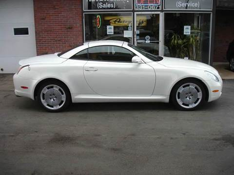 2003 Lexus SC 430 for sale at AUTOWORKS OF OMAHA INC in Omaha NE