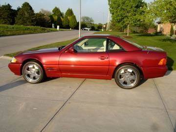 2000 Mercedes-Benz SL-Class for sale at AUTOWORKS OF OMAHA INC in Omaha NE