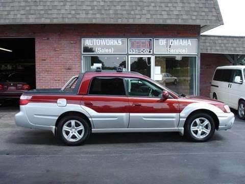 2003 Subaru Baja for sale at AUTOWORKS OF OMAHA INC in Omaha NE