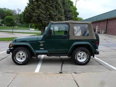1999 Jeep Wrangler for sale at AUTOWORKS OF OMAHA INC in Omaha NE