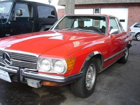 1972 Mercedes-Benz 350-Class for sale at AUTOWORKS OF OMAHA INC in Omaha NE