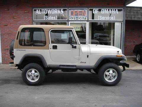 1995 Jeep Wrangler for sale at AUTOWORKS OF OMAHA INC in Omaha NE