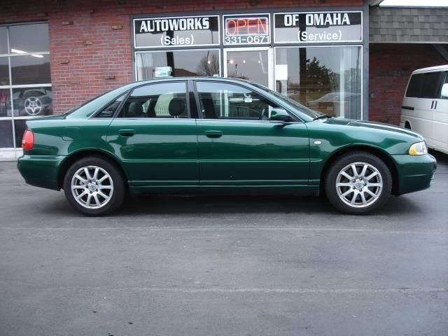 2001 Audi S4 for sale at AUTOWORKS OF OMAHA INC in Omaha NE